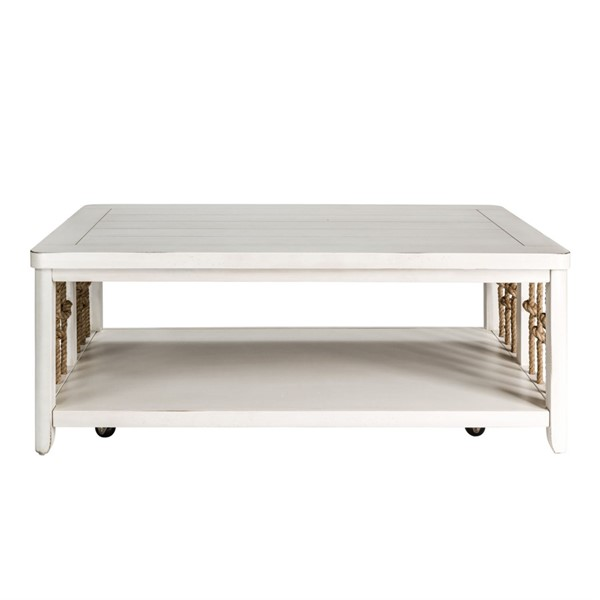 Liberty Dockside II White Cocktail Table LBRT-469-OT1010