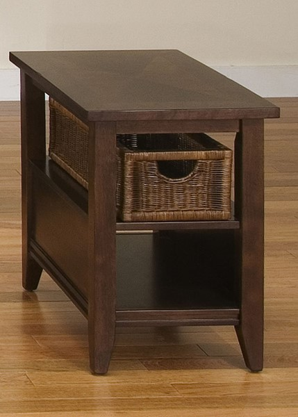 Liberty Lakewood Amaretto Basket End Table LBRT-481-OT1021