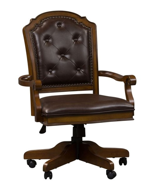 Liberty Amelia Jr Toffee Executive Office Chair LBRT-487-HO197
