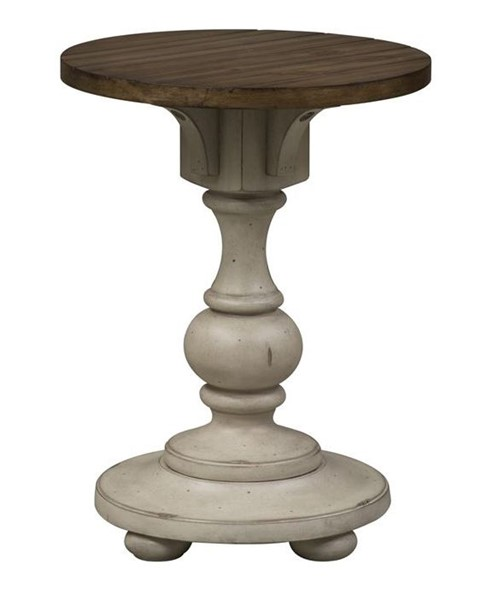 Liberty Morgan Creek White Tobacco Chair Side Table LBRT-498-OT1021