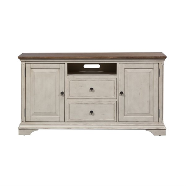 Liberty Morgan Creek White Tobacco 56 Inch TV Console LBRT-498-TV56