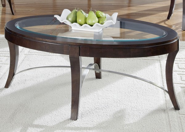 Liberty Avalon Dark Truffle Cocktail Table LBRT-505-OT2010