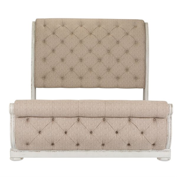 Liberty Abbey Park White Queen Sleigh Bed LBRT-520-BR-QUSL