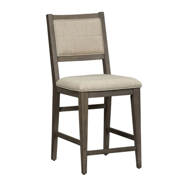 2 Liberty Crescent Creek Weathered Gray Counter Height Chairs LBRT-530-B650124