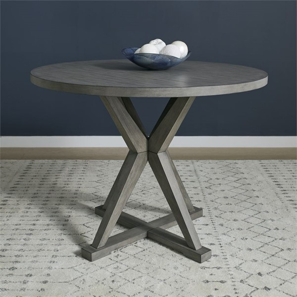 Liberty Crescent Creek Weathered Gray Gathering Table LBRT-530-GT4848