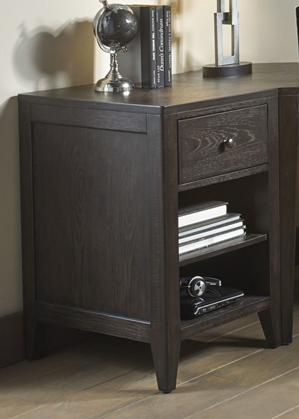 Liberty Autumn Oaks II Black Storage End File Cabinet LBRT-530-HO146