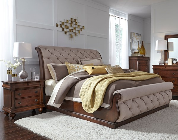 Liberty Cotswold Cinnamon 2pc Bedroom Set with King Bed LBRT-545-KSL-BR-S1