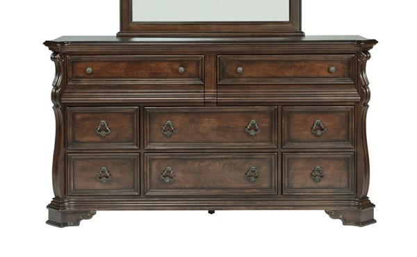 Liberty Arbor Place Brown 8 Drawers Double Dresser LBRT-575-BR31