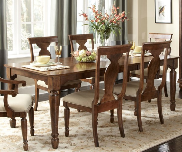Liberty Rustic Tradition Cherry Rectangle Table LBRT-589-T4284