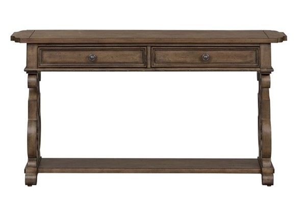 Liberty Parisian Marketplace Brownstone Sofa Table LBRT-598-OT1030