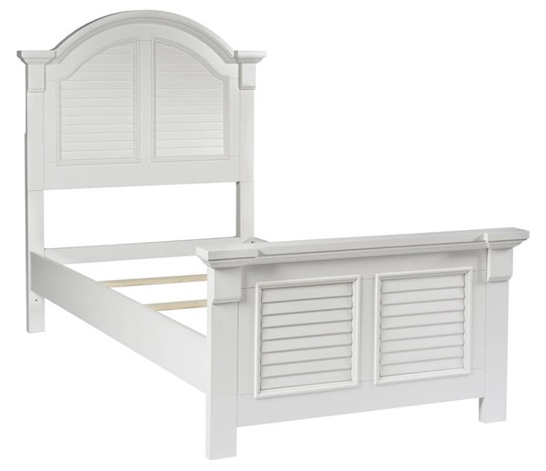 Liberty Summer House Youth Oyster White Full Panel Headboard LBRT-607-BR17