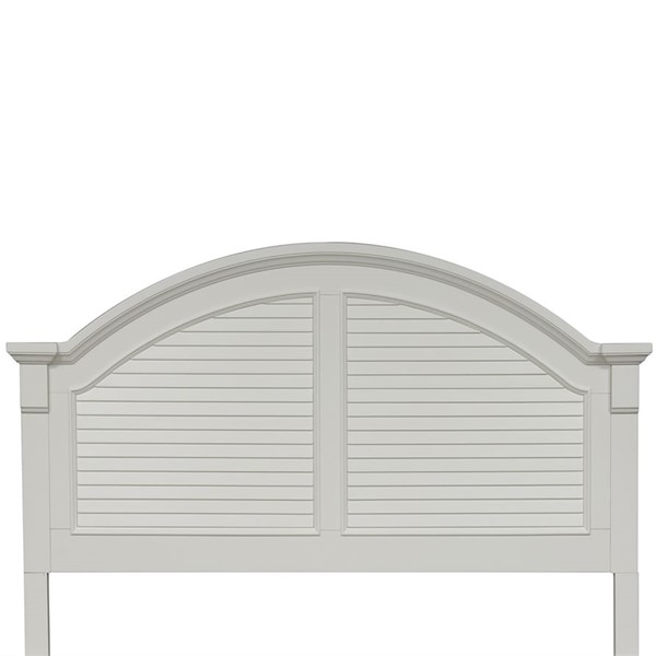 Liberty Summer House I White King Panel Headboard LBRT-607-BR15