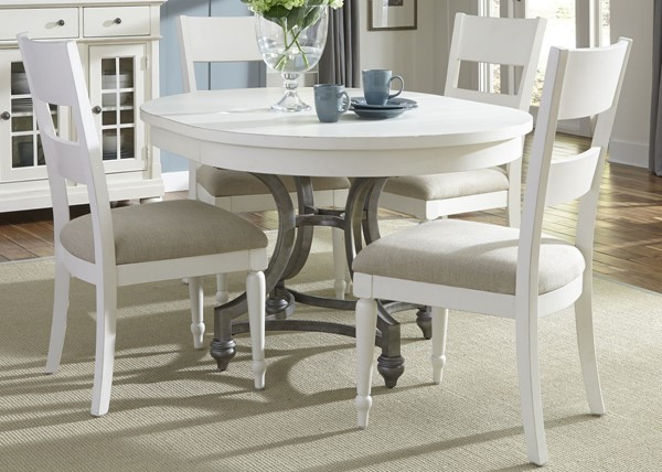 Liberty Harbor View II Linen Round 5pc Dining Room Set LBRT-631-DR-5ROS