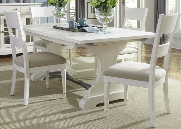 Liberty Harbor View II Linen Rectangle 5pc Dining Room Set LBRT-631-DR-5TRS