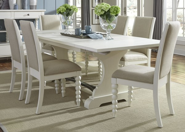 Liberty Harbor View II Linen 7pc Dining Room Set LBRT-631-DR-O7TRS