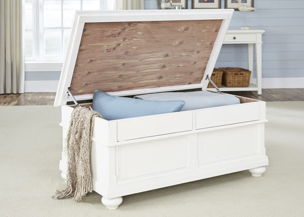 Liberty Harbor View Linen Trunk Cocktail Table LBRT-631-OT1011