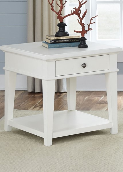 Liberty Harbor View Linen End Table LBRT-631-OT1020