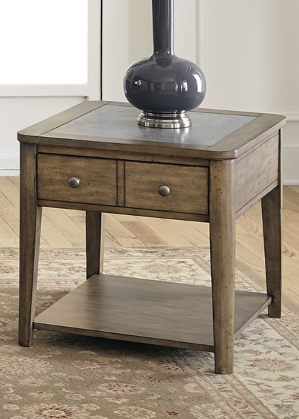 Liberty Weatherford Caramel End Table LBRT-645-OT1020