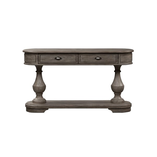 Liberty Southern Living Weathered Taupe Drawer Sofa Table LBRT-646-OT1030