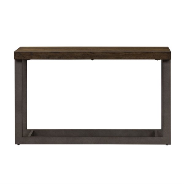 Liberty Sorrento Valley Brush Tobacco Sofa Table LBRT-654-OT1030