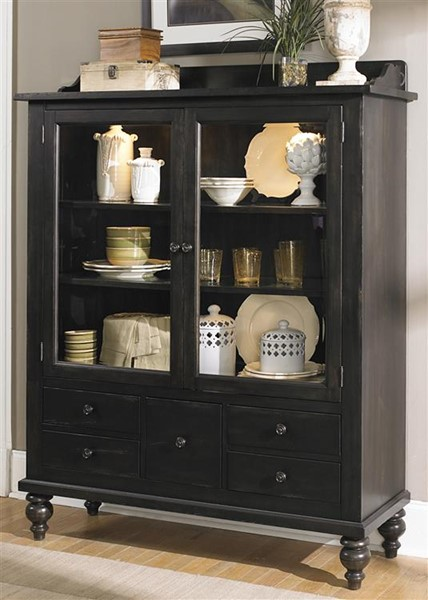 Liberty Whitney Black Display Cabinet LBRT-661-CH5468