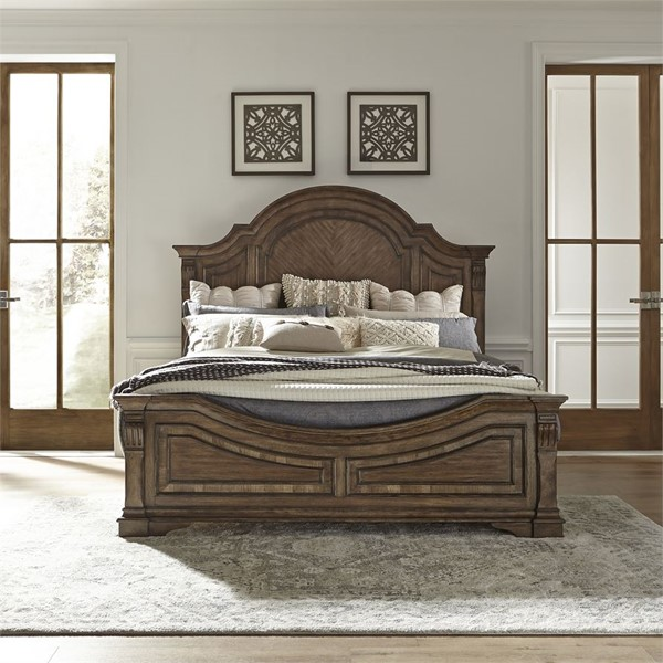Liberty Haven Hall Panel Bed LBRT-685-QK-BED-VAR