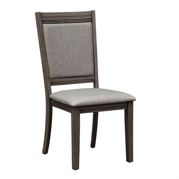 2 Liberty Tanners Creek Greystone Side Chairs LBRT-686-C6501S