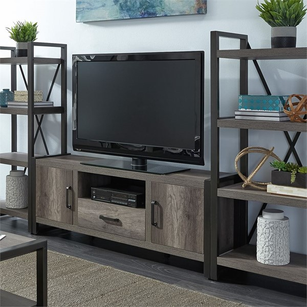 Liberty Tanners Creek Greystone Entertainment Center with Piers LBRT-686-ENTW-ECP