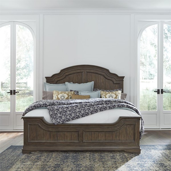 Liberty Homestead Panel Bed LBRT-693-QK-BED-VAR1