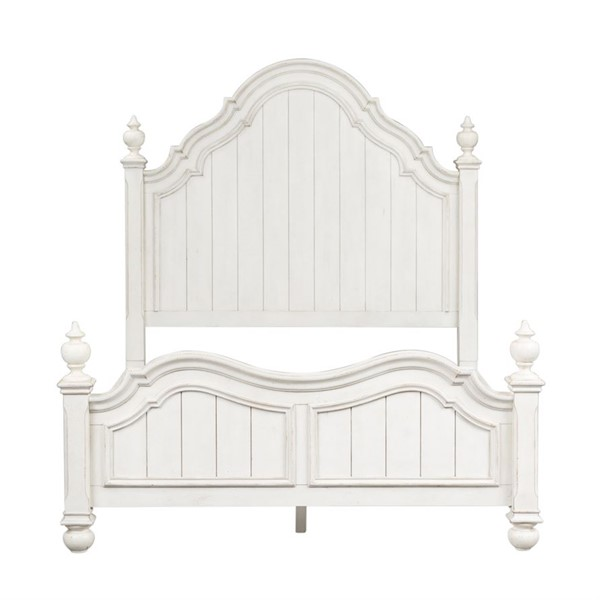 Liberty Parisian Marketplace Two Tone Brownstone Queen Poster Bed LBRT-698-BR-QPS