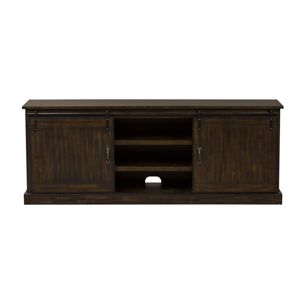 Liberty Appalachian Trails Brown 72 Inch TV Console LBRT-701-TV72