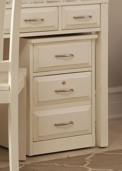 Liberty Hampton Bay White Mobile File Cabinet LBRT-715-HO146