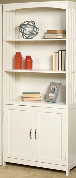 Liberty Hampton Bay White Door Bookcase LBRT-715-HO202