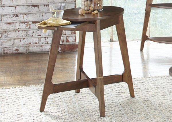Liberty Landon Dark Blonde Chair Side Table LBRT-72-OT1021