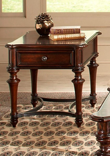 Liberty Kingston Plantation Cognac End Table LBRT-720-OT1020
