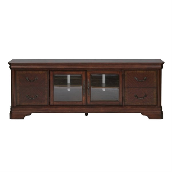 Liberty Alexandria Brown Entertainment TV Stand LBRT-722-TV00