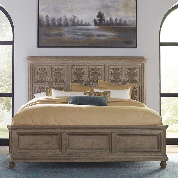 Liberty Laurels Decorative Panel Bed LBRT-725-OQPB-BED-VAR