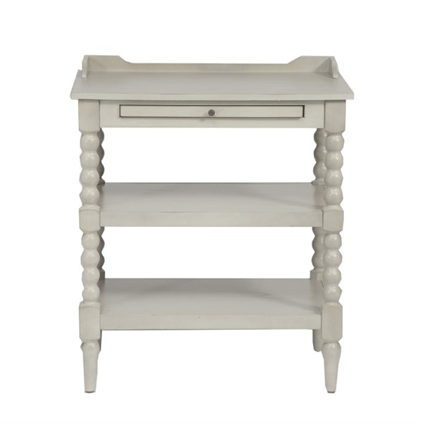 Liberty Harbor View III Dove Open Night Stand LBRT-731-BR62