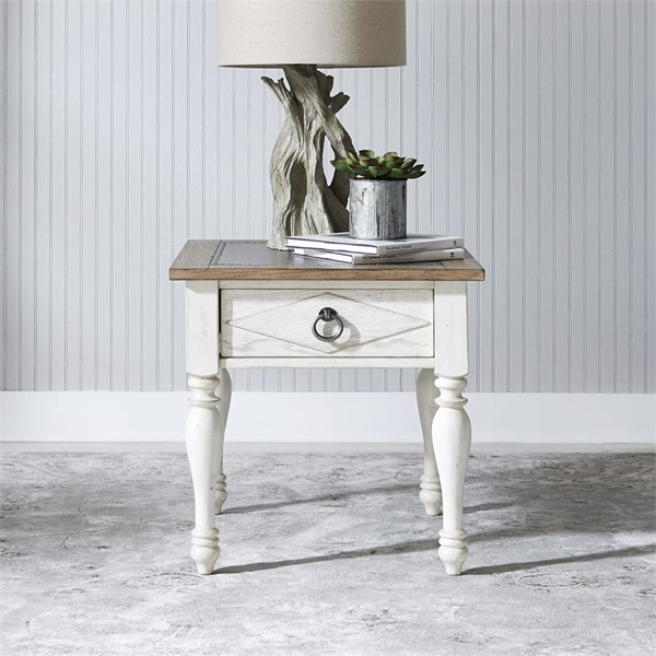 Liberty Willow Cottage Drawer End Table LBRT-752-OT1020