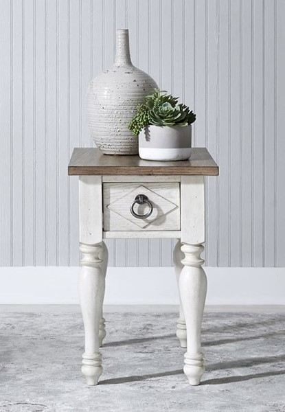 Liberty Willow Cottage Chair Side Table LBRT-752-OT1021
