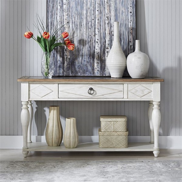 Liberty Willow Cottage Sofa Table LBRT-752-OT1030