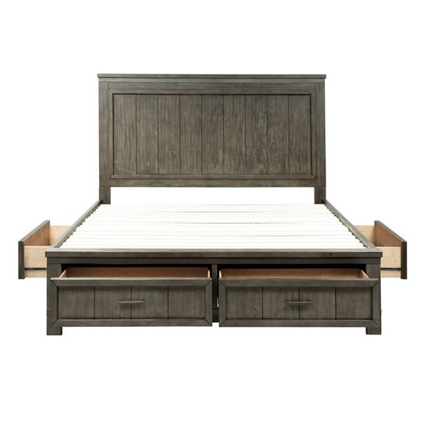 Liberty Thornwood Hills King Two Sided Storage Bed LBRT-759-BR-K2S