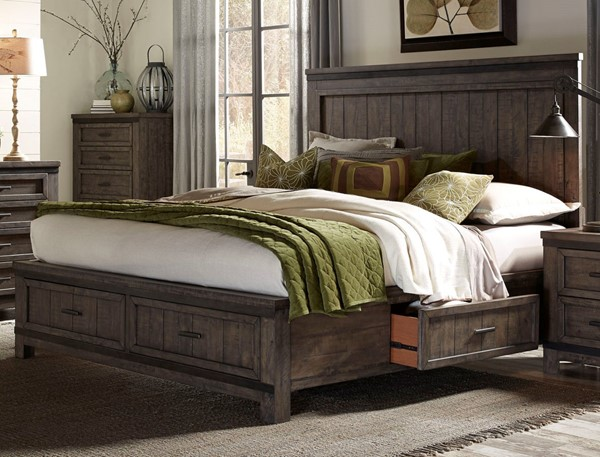 Liberty Thornwood Hills Two Sided Storage Bed LBRT-759-Q2S-BED-VAR2