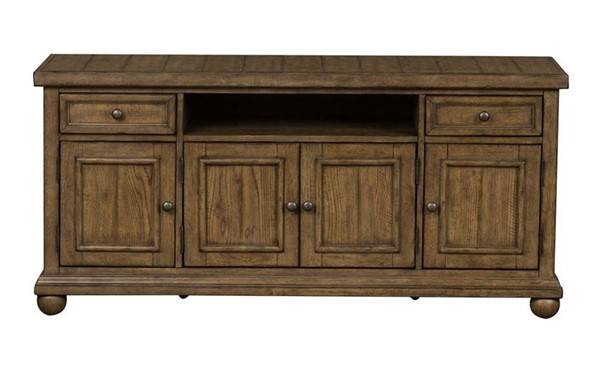 Liberty Harvest Home Barley Brown 60 Inch TV Console LBRT-779-TV60