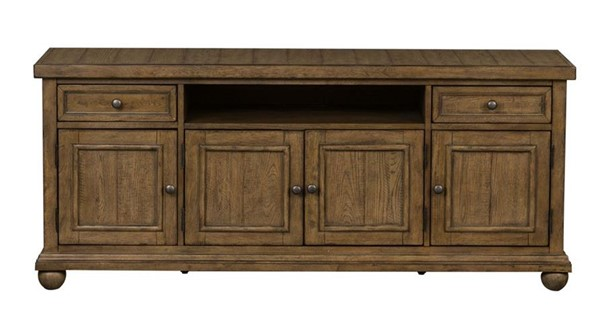 Liberty Harvest Home Barley Brown 66 Inch TV Console LBRT-779-TV66