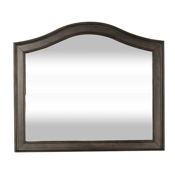 Liberty Catawba Hills Peppercorn Saw Mirror LBRT-816-BR51
