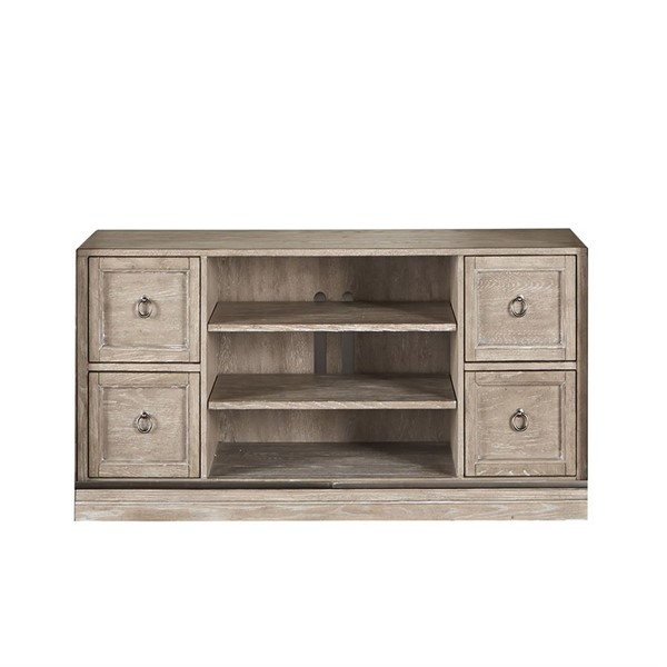 Liberty Mirrored Reflections Taupe Entertainment TV Stand LBRT-874-TV59