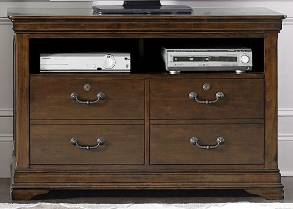 Liberty Chateau Valley Brown Media File Cabinet LBRT-901-HO146
