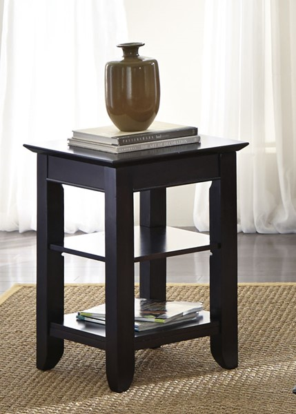 Liberty Piedmont Dark Mocha Chair Side Table LBRT-955-OT1022