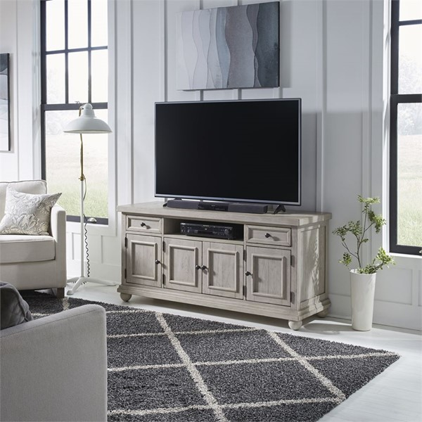 Liberty Harvest Home White 60 Inch TV Console LBRT-979-TV60
